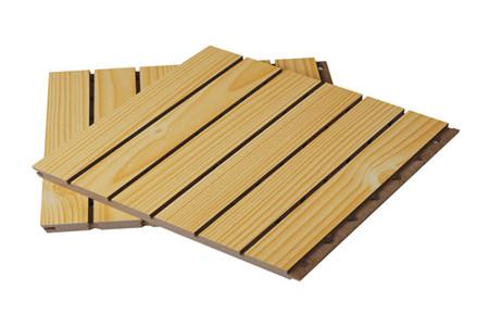 木质吸音板01